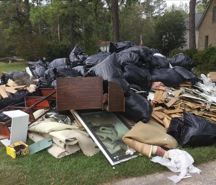 Homes After Hurricane Florence Before